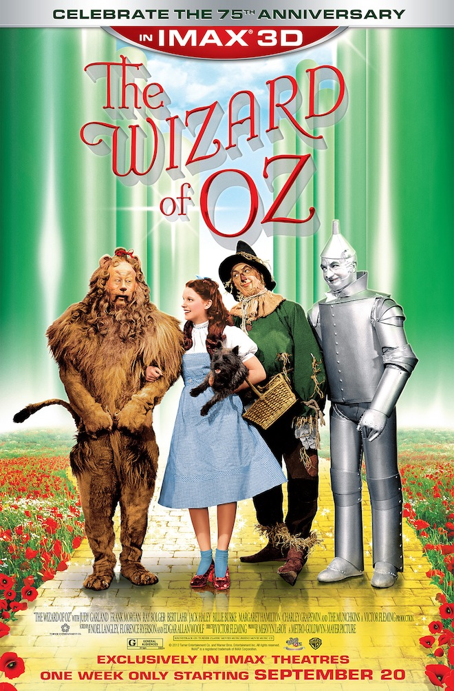 Complete List Of Imax Theaters Showing Oz In 3d Judy Garland News Events